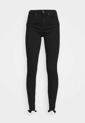 JAGGED HEM JAMIE - Jeans Skinny - black