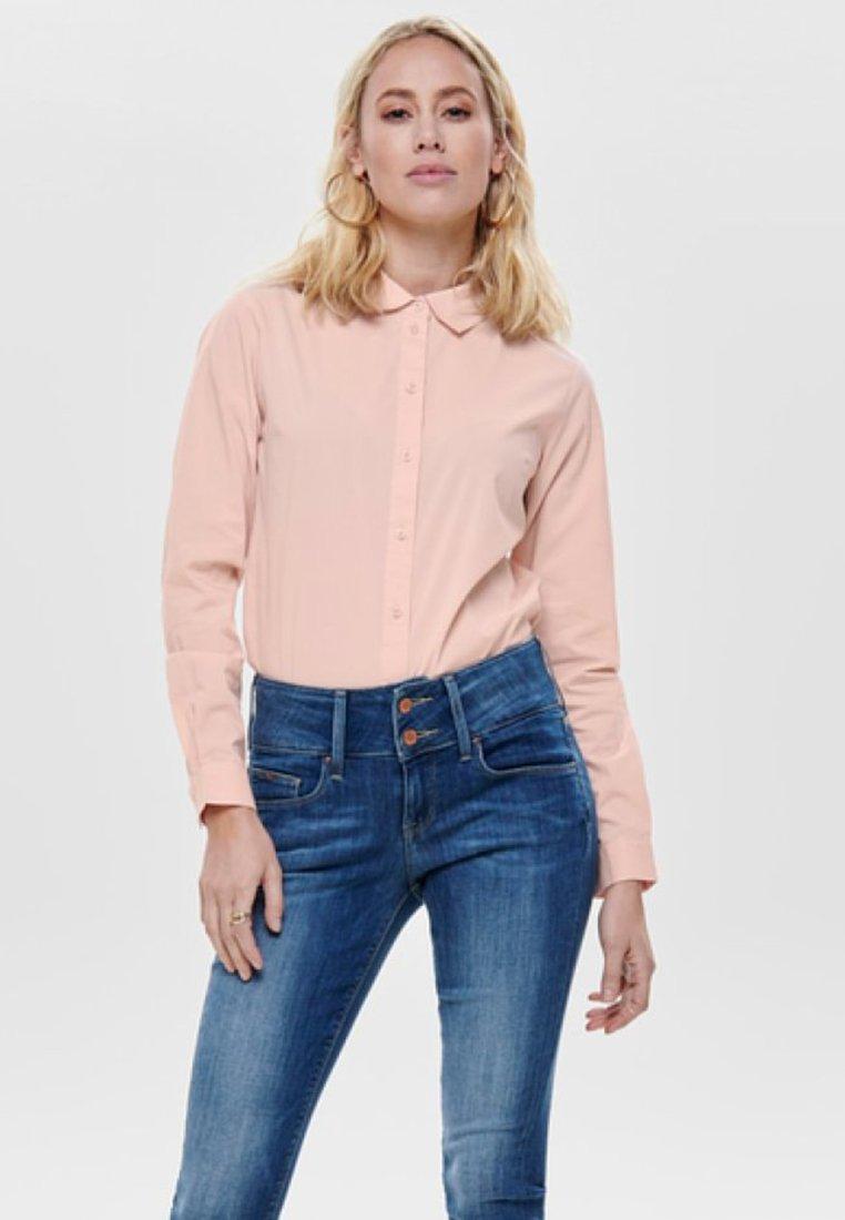 JDY - JDYMIO - Button-down blouse - pink smoke