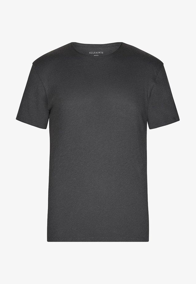 FIGURE - T-shirt - bas - washed black
