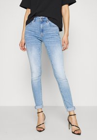G-Star - 3301 HIGH SKINNY  - Jeans Skinny Fit - indigo aged - 0