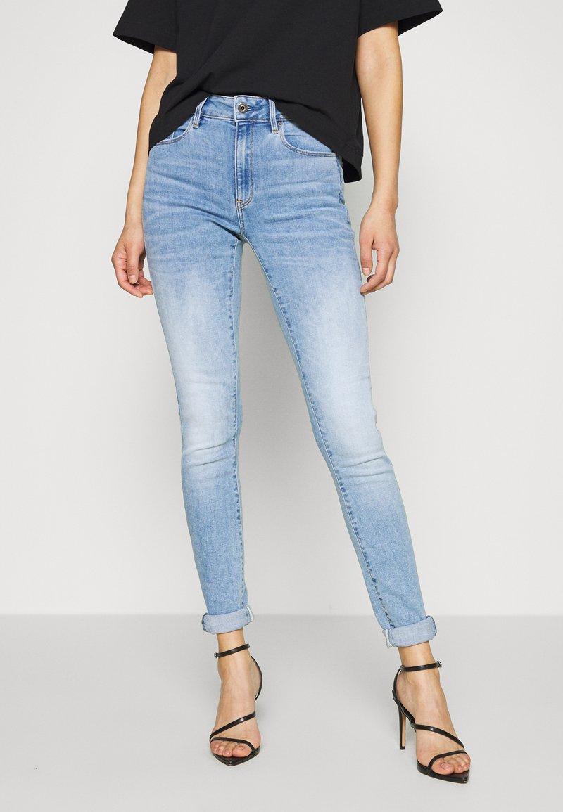 G-Star - 3301 HIGH SKINNY  - Jeans Skinny Fit - indigo aged
