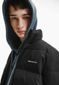 Calvin Klein Jeans - Winter jacket - ck black / mix media - 3