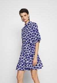 Diane von Furstenberg - BEATA DRESS - Shirt dress - true blue - 0