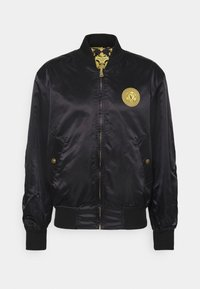Versace Jeans Couture - TECNICAL - Bomber Jacket - black - 8