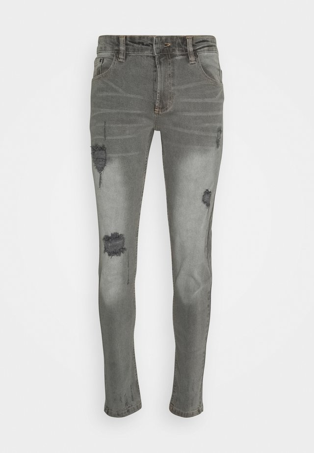 MR RED - Skinny džíny - light grey washed
