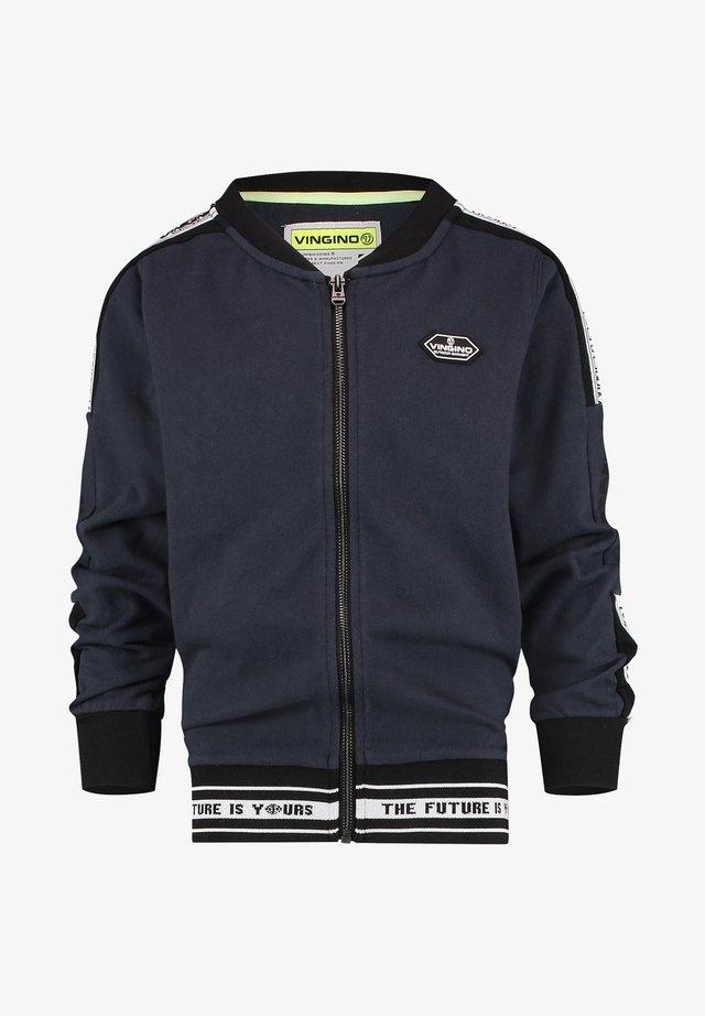 Bomber Jacket - midnight blue