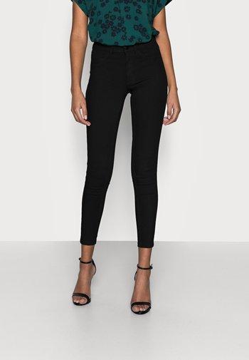 VIJEGGY ANA JEGGING - Jeans Skinny Fit - black denim