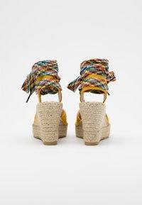 Vidorreta - High heeled sandals - mostaza - 3