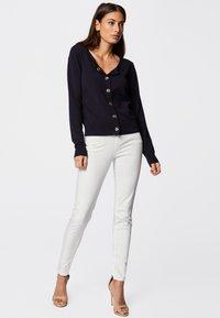 Morgan - PETRA - Slim fit jeans - off-white - 1