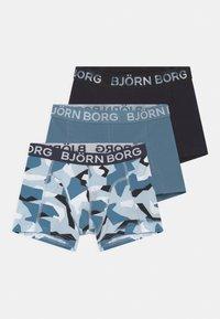 Björn Borg - NORDIC CAMO SAMMY 3 PACK - Pants - skyway - 0