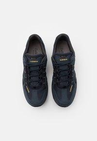 Lowa - GORGON GTX - Hiking shoes - steel blue/mustard - 3