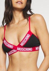 Moschino Underwear - BRA - Triangle bra - black - 4