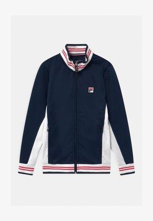 OLE FUNCTIONAL UNISEX - Training jacket - peacoat blue/white