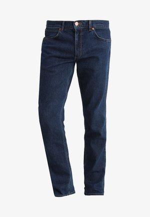 GREENSBORO - Straight leg jeans - darkstone