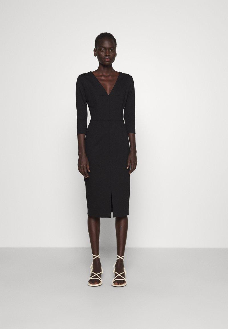 HUGO - KALAYLA - Shift dress - black