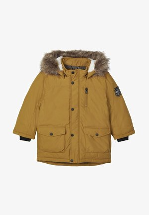GEFÜTTERTER - Parka - golden brown