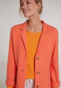 Oui - Classic coat - apricot - 3