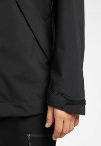 Haglöfs - TJÄRN JACKET  - Hardshell jacket - true black - 2
