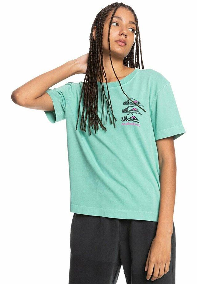 T-shirt print - marine green