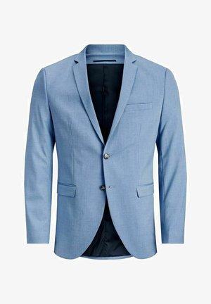 SLIM FIT - Blazer jacket - chambray blue