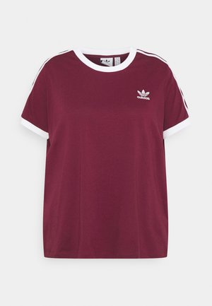 3 STRIPES TEE - T-shirt print - victory crimson