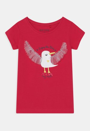 SMALL GIRLS HAPPY SEAGULL - T-shirt print - hochrot