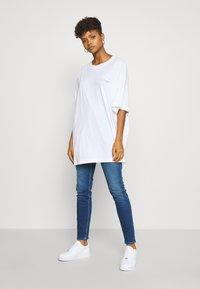 Weekday - HUGE DRESS - Jerseykjole - white - 1