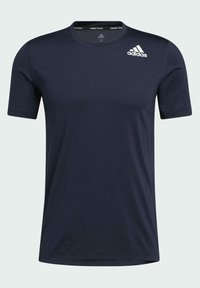 adidas Performance - TURF SS PRIMEGREEN TECHFIT TRAINING WORKOUT COMPRESSION T-SHIRT - Camiseta estampada - blue - 6