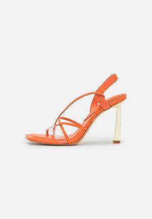 JULIET - Sandals - bright orange