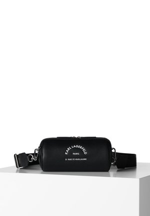 BARREL BAG - Saszetka nerka - black