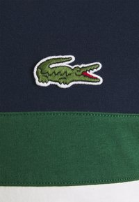 Lacoste - Print T-shirt - beige/dark blue/dark green - 2