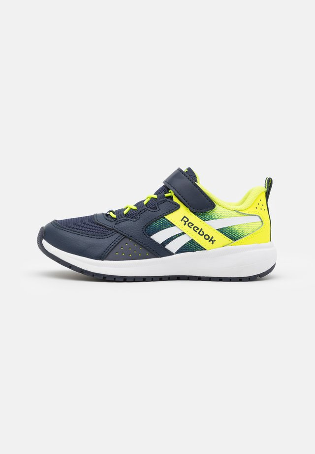 ROAD SUPREME 2.0 ALT UNISEX - Obuwie do biegania treningowe - vector navy/alert yellow/white