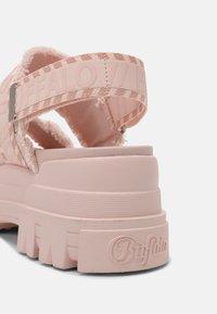 Buffalo - VEGAN ASPHA  - Platform sandals - rose - 5