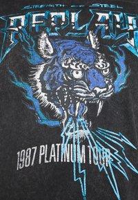 Replay - T-shirt con stampa - blackboard - 6