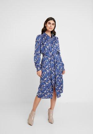 DOUBLE - Košilové šaty - blue