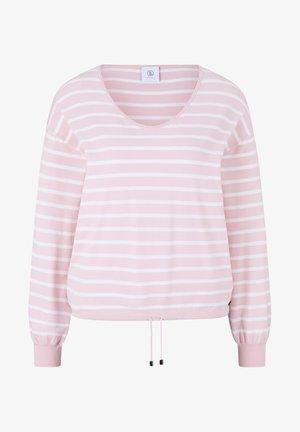 SUNA - Jumper - rosa/weiß