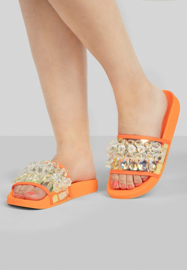 Badslippers - orange-multicolor