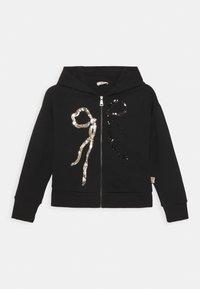 N°21 - FELPA - Zip-up hoodie - black - 0