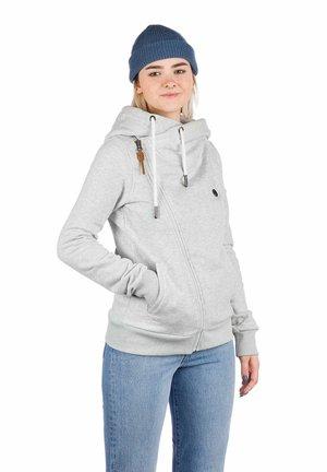 MARTE - Zip-up sweatshirt - light heather grey