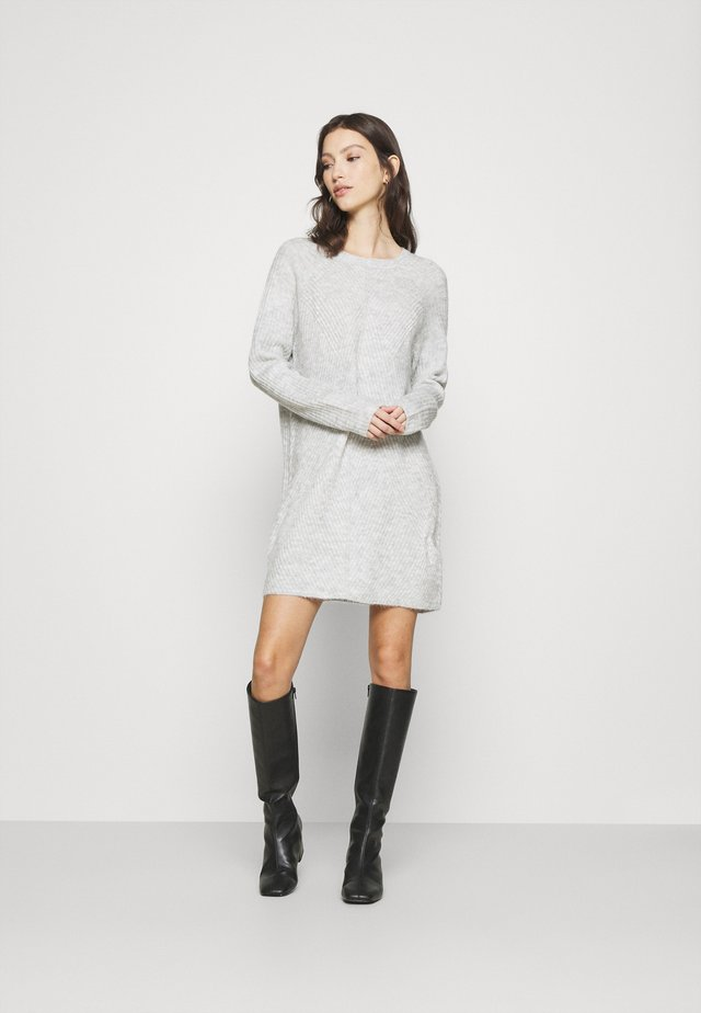 ONLCAROL  - Robe pull - light grey melange