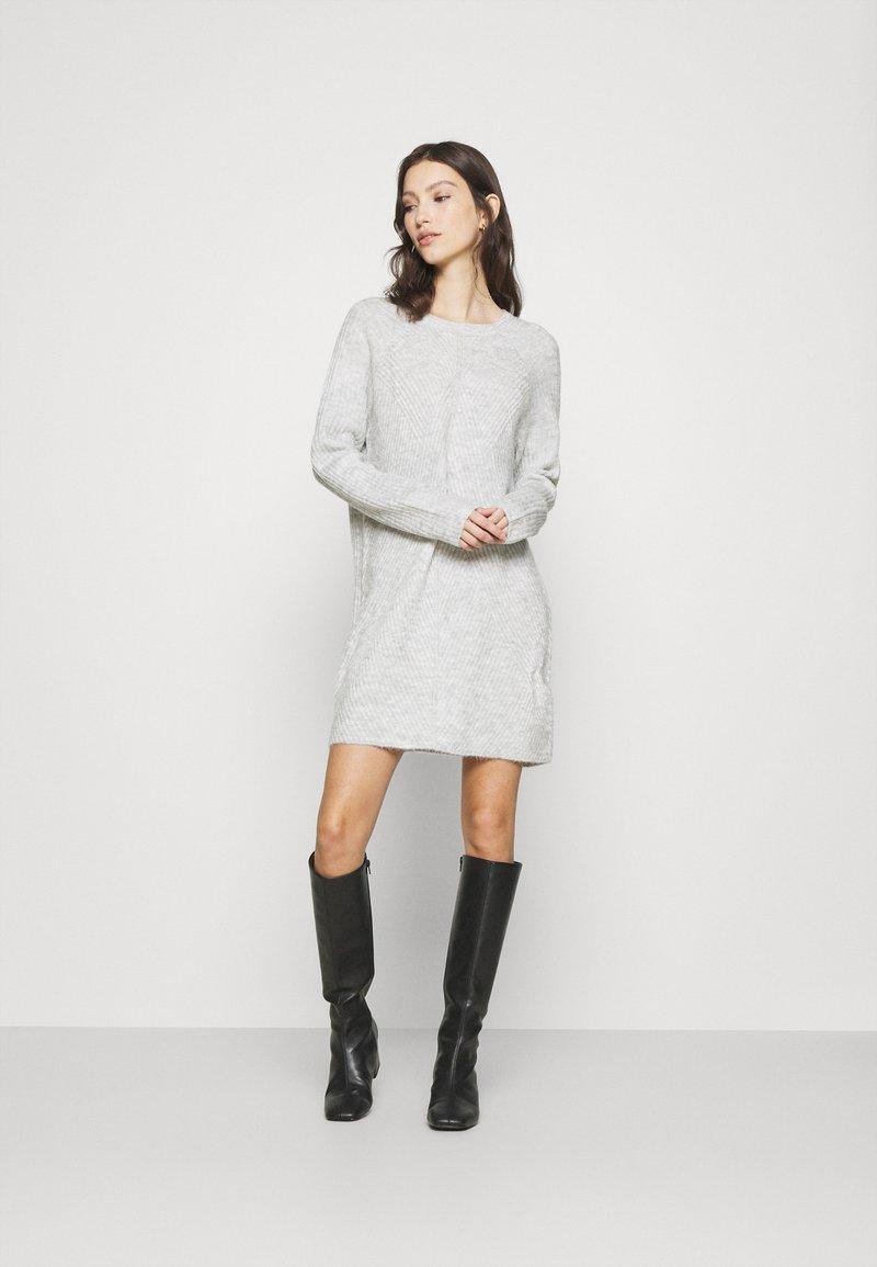 ONLY - ONLCAROL  - Jumper dress - light grey melange