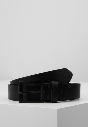 UNISEX - Pasek - black