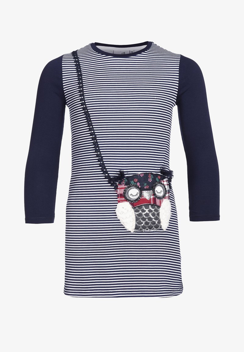 happy girls - Jersey dress - navy