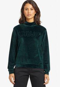 khujo - RISSA - Sweatshirt - turquoise - 0
