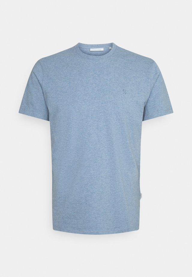 THOR MELANGE - T-shirt basic - true navy melange