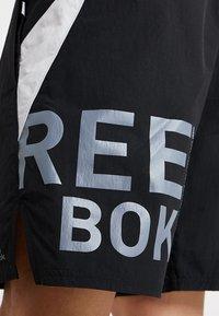 Reebok - ONE SERIES TRAINING SHORTS - Sports shorts - black - 6