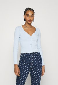 Monki - SANCY - Cardigan - blue - 0