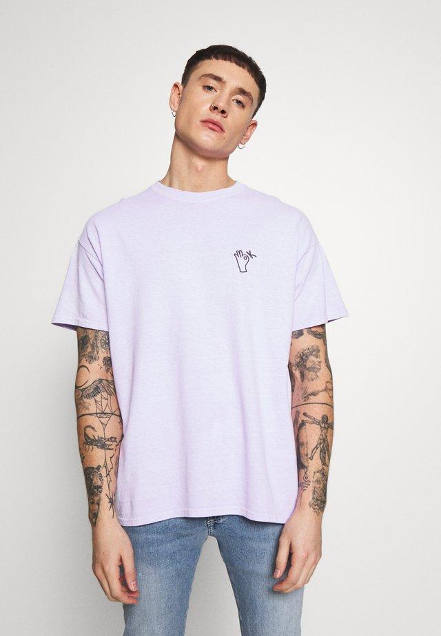 OSAKA TEE - T-shirt con stampa - lilac