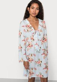 VILA PETITE - VIMESA SHORT DRESS PETITE - Day dress - cashmere blue - 3