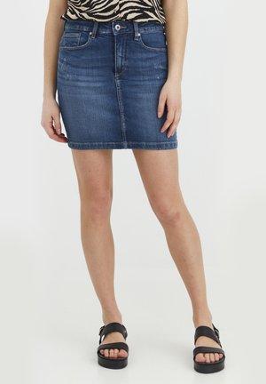 ADRIA - Gonna di jeans - antique blue